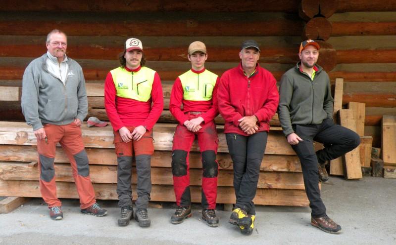 Les soigneurs de la forêt: L'équipe du service forestier
